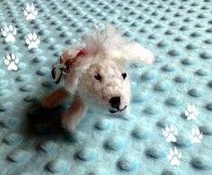 Mrs Cece  the poodle keyring by DoGATAilla on Etsy