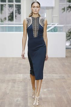 London Fashion Week Day 2 Julien Macdonald  Spring/Summer 2015 Ready to wear  13 September 2014