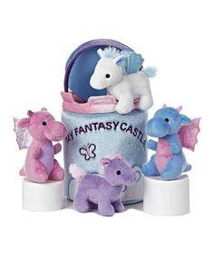 'My Fantasy Castle' Plush Toy Set
