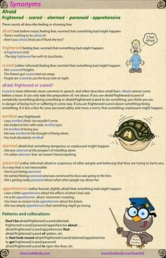The 78 best synonym images on Pinterest | Learning english, English ...