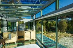 Pure Pods: a series of three glass cabins, spanning less than 500 sq ft. The beautiful homes are offered as retreats, located outside of Christchurch, New Zealand.