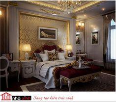 nội thất đẹp biệt thự - phòng ngủ cổ điển