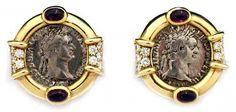 Two Silver Denarii of Roman Emperor Domitian - FJ.5062 Origin: Israel Circa: 81 AD to 96 AD