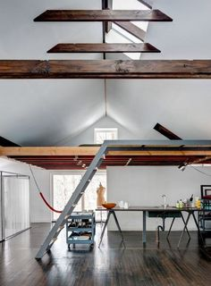 ceiling finish and loft