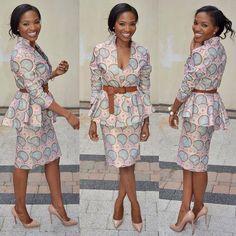 Latest Edition Of Ankara & Kente Styles: Hot, Slinky, Sassy & Stunning - Wedding Digest Naija African Dresses For Women, African Print Dresses, African Attire, African Wear, African Women, African Prints, African Style, African Inspired Fashion, African Print Fashion
