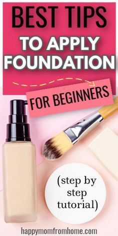 How To Use Foundation, Foundation For Mature Skin, Makeup Tips Foundation, Applying Foundation, Types Of Foundation, Perfect Foundation, Powder Foundation, Best Makeup Tips, Best Makeup Products