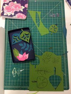 Cut-paper class with Brittney Lee (Disney Visual Design Artist)