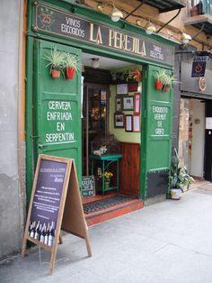 La Perejila on Cava Baja Street in the old part of Madrid, Spain.