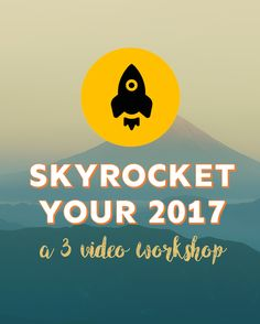 Ready to skyrocket your 2017 as a freelancer? This 3-day video workshop will show you how to solidify your services, send out the right message to clients, and create a marketing strategy that actually WORKS! Ready?