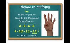 Teach Multiplication Facts using cheers | Learning Multiplication Facts Through Song