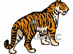 Tiger Clip Art | Tiger Clip Art, Pictures, Vector Clipart, Royalty-Free Images # 1