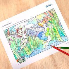 Free printable Disney coloring pages #Disney