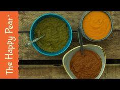INDIAN CURRY SAUCES 3 WAYS   VEGAN - YouTube
