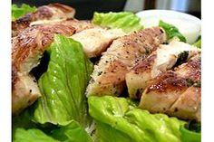 Paleo Recipe: Lime Grilled Chicken Caesar Salad | Mind Body Smile