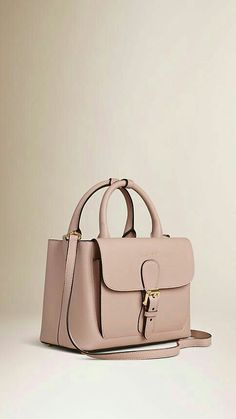 Burberry The Small Saddle Bag in Grainy Leather and Bonded Suede Pale  Orchid The Saddle Bag in grainy leather bonded to a suede lining in a  contrasting ... b9bd7039f16ac