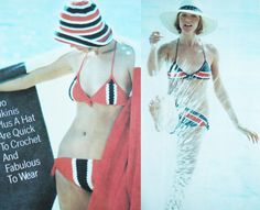 PDF Instant Download 2 pattern Bathing suit by GrandmaHadItGoinOn, $2.38