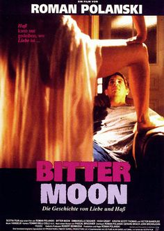 Official Theatrical Movie Poster Of For Bitter Moon Directed By Roman Polanski