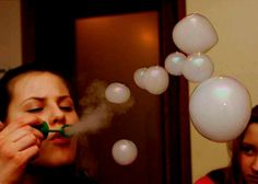 Weed smoke bubbles!!!!!! im going to try this sometime
