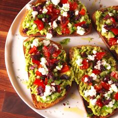 Avocado Toast The toastest with the mostest.The toastest with the mostest. Diet Recipes, Vegan Recipes, Cooking Recipes, Delicious Recipes, Cooking Food, Vegetarian Cooking, Food Prep, Greek Food Recipes, Vegetarian Greek Recipes
