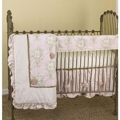 "Cotton Tale Lollipops & Roses Front Crib Rail Cover Set - Cotton Tale - Babies ""R"" Us"