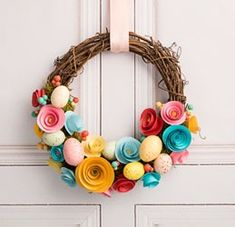 Wrapped in Spring Wreath