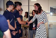 Kate looked completely at home in her new role as patron of the All England Club, having taken over from the Queen