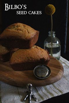 Recipe for Bilbo Baggin's Seed-Cakes from Tolkien's The Hobbit
