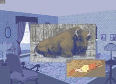 In Richard McGuire's time-bending graphic novel Here, the past, present and a vividly imagined future are all set in the same specific location. By Patrick Lohier.