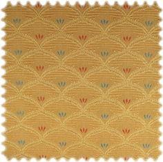 Möbelstoff Hamburg Gold mit Teflon Fleckschutz Möbelstoffe Gemustert Kleine Muster Teflon®