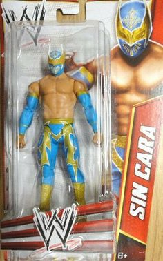 "WWE Classics Signature Series Sin Cara Action Figure by Mattel. $22.99. From the Manufacturer                World Wrestling Entertainment Signature Series Collection: Bring home the action of the WWE! Kids can recreate their favorite matches with these 6"" figures created in Superstar scale. Figure offers extreme articulation, amazing accuracy and authentic details like arm bands and tattoos. The WWE Series includes 6 Superstar figures, with special assortments dedicated to WWE P..."