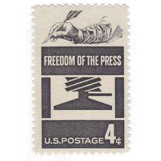 Qty of 10  Unused 1958 Vintage Postage Stamp by vintagepostageshop, $4.50
