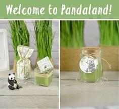 Welcome to pandaland!!! | whenmina-creates μπομπονιέρα βάπτισης πάντα, κεράκι μπομπονιέρα