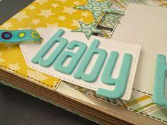 Scrapper della Notte: Mini album Baby Boy