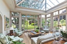 Orangery with Bi-fold Doors by Vale Garden Houses   homify Home Interior, Interior Architecture, Interior Design, Outdoor Patio Designs, Sunroom Decorating, Sunroom Ideas, Relaxation Room, Relaxing Room, Design Your Dream House