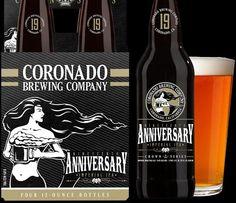 @coronadobrewing Nineteenth Anniversary Imperial IPA coming soon