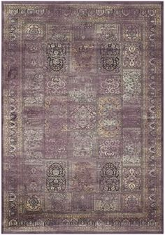Features:  -Machine woven.  -Made in India.  -Professional cleaning recommended.  Technique: -Machine woven.  Primary Color: -Multi-Colored.  Material: -Synthetic.  Product Type: -Area Rug. Dimensions