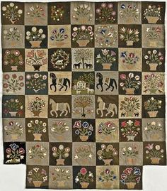 Munroe Family quilt. My friend Cheri showed me this quilt at the Road to California Quilt show. It is now on my list of things to do in the future. I will probably make just a few blocks.