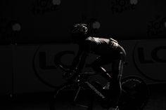 Semi-artistic shot of this Tour de France Bahrain-Merida rider.