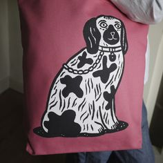 Staffordshire Dog Tote Bag