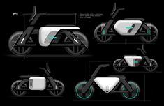 2020 Portfolio (Condensed on Behance Scooter Design, Bike Design, Eletric Bike, Bike Sketch, Motorcycle Design, Ford Motor Company, Transportation Design, Automotive Design, Tabata