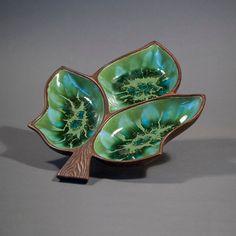 Vintage Treasure Craft Ceramic Dish by ZeesVintage on Etsy, $15.00