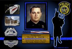 IN MEMORIAM- OFFICER DAVID SMITH New York Police Departments has reported that Officer David W. Smith, 43, of the Johnson City New York Police Department was shot and killed. Officer David Smith - gone, but never will be forgotten.   Read More: http://www.lawenforcementtoday.com/2014/04/01/in-memoriam-officer-david-smith/