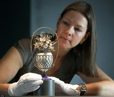 Faberge collection of the Royals goes on display in Buckingham Palace | Mail Online