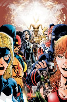 JSA All-Stars #1 by Freddie Williams II