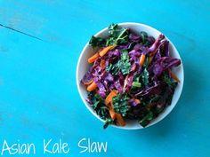 Asian Kale Slaw | The Collegiate Vegan