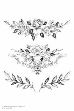 Cute Tattoos, Leg Tattoos, Body Art Tattoos, Small Tattoos, Sleeve Tattoos, Tummy Tattoo, Rose Tattoos For Women, Chest Tattoos For Women, Stomach Tattoos Women