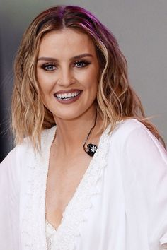 Perrie Edwards' ever-changing hair