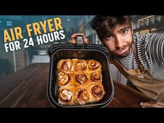 24 Hour Air Fryer Challenge - YouTube