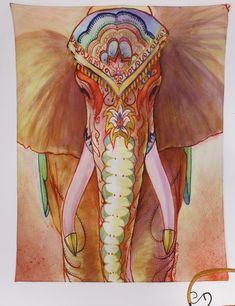 Mandala Tapestry Polyester Wall Tapestry Indian Elephant Tapestry Home Decoration Carpet Wholesale toalla mandalas playa Image Elephant, Elephant Love, Colorful Elephant, Elephant India, Elephant Artwork, Elephant Design, Elephant Print, African Elephant, Indian Elephant Art