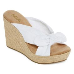 d803499e663c5 MIA girl Brenna Wedge Sandals found at  JCPenney Wedge Sandals